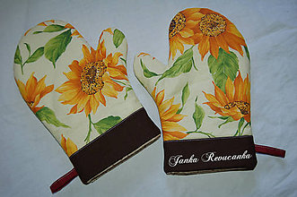 Úžitkový textil - slnečnica - 10106001_
