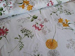 Textil - Jarné kvety - poťahovka - 10106120_