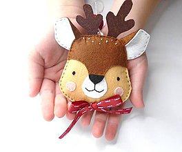 Dekorácie - Rozprávkové Vianoce (Jeleň) - 10112233_