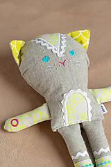 Hračky - Kočička malá - 10111790_