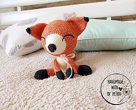 Hračky - Šťastná líška ♥ - 10111021_