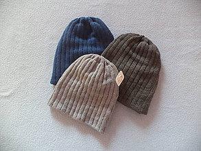 Čiapky - Klasická čiapka pre chlapcov a chlapov - 10109989_