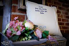 Úžitkový textil - Vankúš pre pani starostku - 10112461_