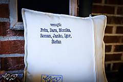 Úžitkový textil - Vankúš pre pani starostku - 10112466_
