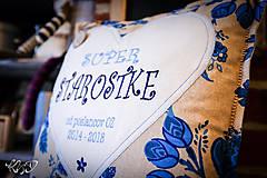 Úžitkový textil - Vankúš pre pani starostku - 10112474_