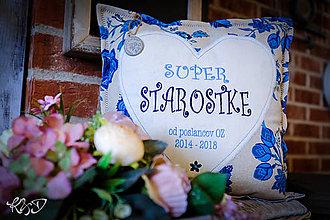 Úžitkový textil - Vankúš pre pani starostku - 10112462_