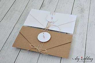 Papiernictvo - Svadobné oznámenie Countryside - 10110693_