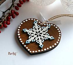 Dekorácie - Vianočná ozdoba masív 14 - 10110017_
