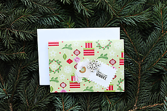 Papiernictvo - Vianočná pohľadnica - 10113185_