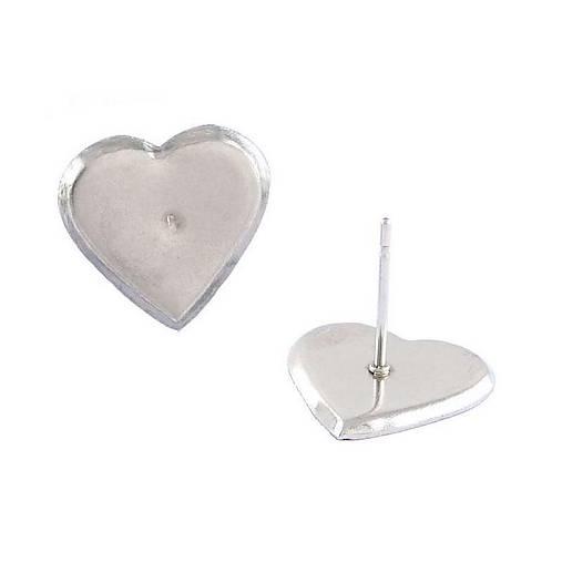 Puzeta s lôžkom srdce /M2101/ - nerez.oceľ 304 a 316 (1 ks)