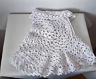 Detské oblečenie - Detská kruhová vestička s mandalou 2 - 10112084_