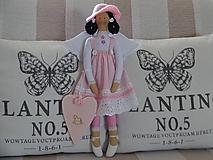 Bábiky - Ružová anjelka - 10110308_