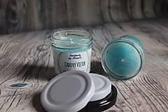 Svietidlá a sviečky - handmade sviečka ľadový vietor - 10109986_