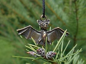 Šperky - little bats - 10113705_