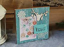 Papiernictvo - jelenček_ vianočná pohľadnica - 10110279_