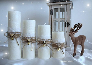 Svietidlá a sviečky - Adventné obdobie - 10109909_