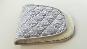 Textil - Podložka do vaničky Joolz DAY 2  a DAY 3 100% merino ELEGANT  GREY - 10112085_