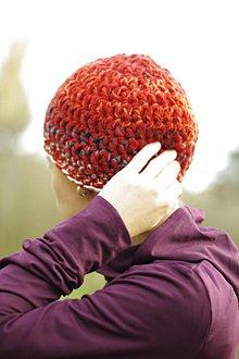 Čiapky - farebnica farebná líščia:) čiapka akurátka - 10109442_