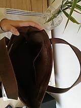 Kabelky - Kožená kabelka Lea (crazy horse) - 10109060_
