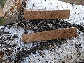 Ozdoby do vlasov - pinetky     dubové - 10109373_