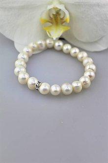 Náramky - perly prírodné náramok - 10112836_