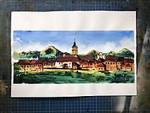 Obrazy - obraz Spišská Sobota a Tatry - 10110189_