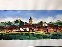 Obrazy - obraz Spišská Sobota a Tatry - 10110190_