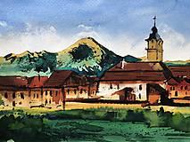 Obrazy - obraz Spišská Sobota a Tatry - 10110192_