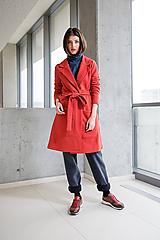 Kabáty - Červený kabát No.42 - 10111285_