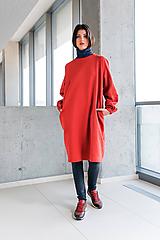 Šaty - červené šaty No.31 - 10111410_