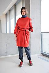 Šaty - červené šaty No.31 - 10111413_