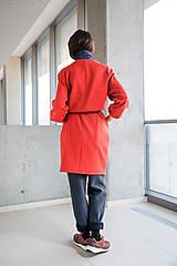 Šaty - červené šaty No.31 - 10111418_