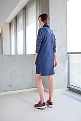 Šaty - Modré šaty No.23 - 10111450_