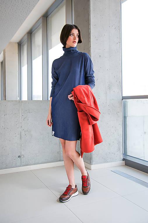 Modré šaty No.23