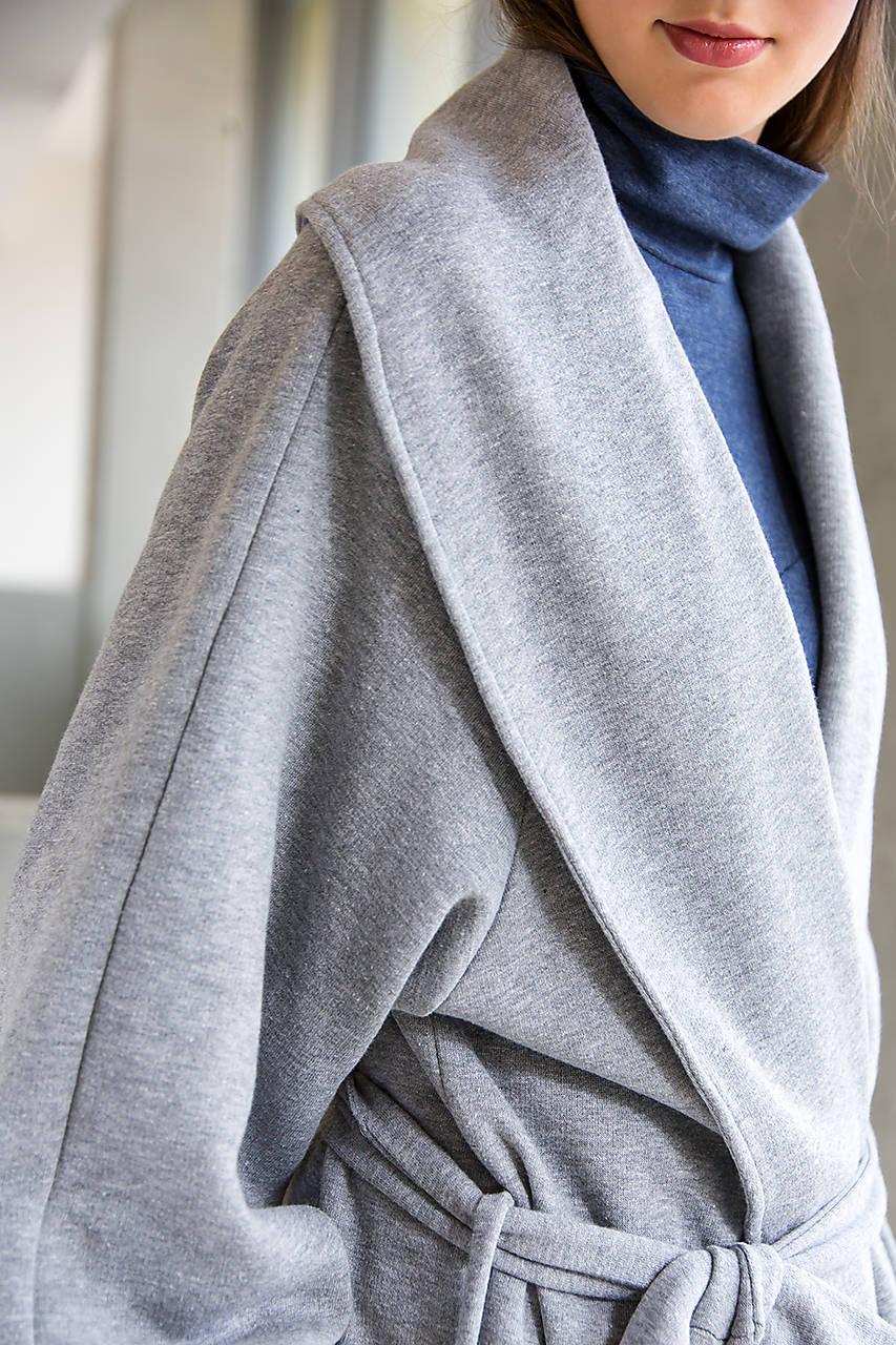 Svetlo šedý kabát No. 43