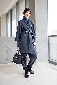 Kabáty - Šedý kabát No. 44 - 10113505_