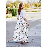 Sukne - dlhá sukňa