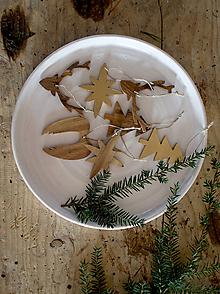 Dekorácie - sada 4ks/ vianočné ozdoby - 10113773_