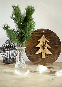 Dekorácie - Vianočný stromček 6 - 10114061_