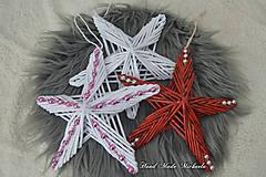 Dekorácie - hviezda na dvere - 10111330_