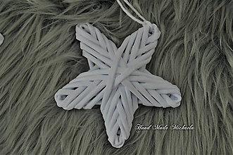 Dekorácie - hviezda na stromček - 10111340_