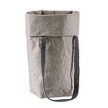 Veľké tašky - Kabelka MARIE stone - 10113578_