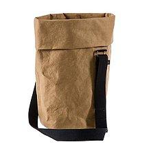 Veľké tašky - Kabelka MARIE sahara, popruh - 10113752_
