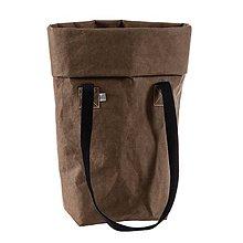 Veľké tašky - Kabelka MARIE čokoláda - 10113825_