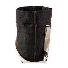 Veľké tašky - Kabelka MARIE čierna, nastaviteľný popruh - 10113940_