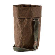 Veľké tašky - Kabelka MARIE čokoláda, nastaviteľný popruh - 10113947_