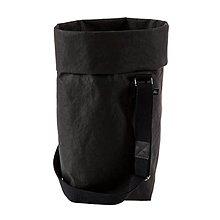 Veľké tašky - Kabelka MARIE čierna, nastaviteľný popruh - 10113985_