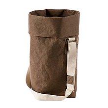 Veľké tašky - Kabelka MARIE čokoláda, nastaviteľný popruh - 10114008_