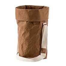 Veľké tašky - Kabelka MARIE sierra, nastaviteľný popruh - 10114019_
