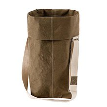 Veľké tašky - Kabelka MARIE tajga, nastaviteľný popruh - 10114039_